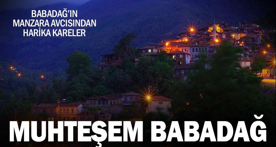 Babadağ#039;ın manzara avcısı