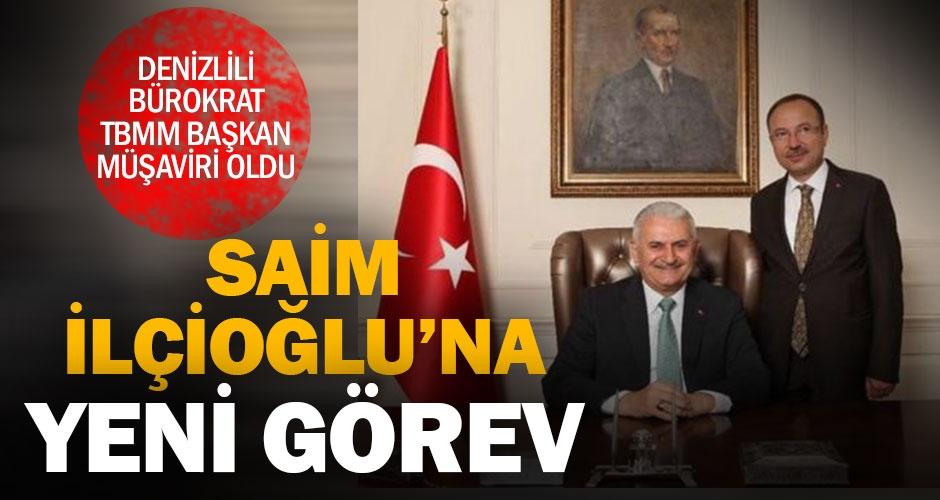 Denizlili bürokrat Saim İlçioğlu TBMM Başkan Müşaviri oldu
