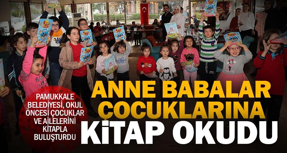 Pamukkale Belediyesinden çocuklara kitap okuma günü