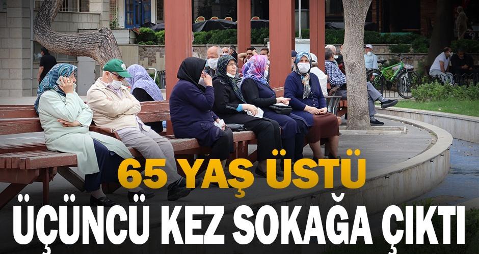 Denizlili 65 yaş üstü vatandaşlar yeniden sokakta