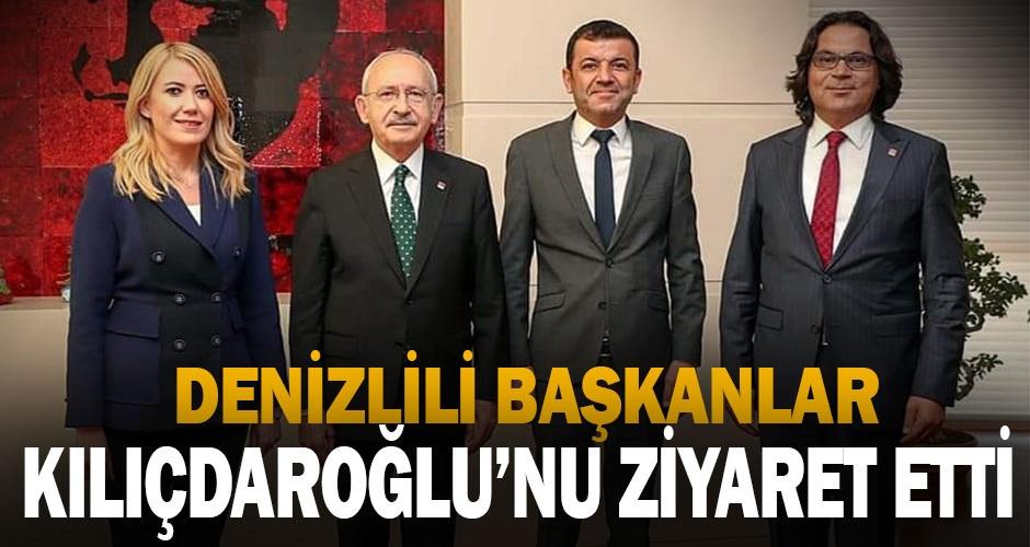 CHPli başkanlardan Kılıçdaroğluna ziyaret