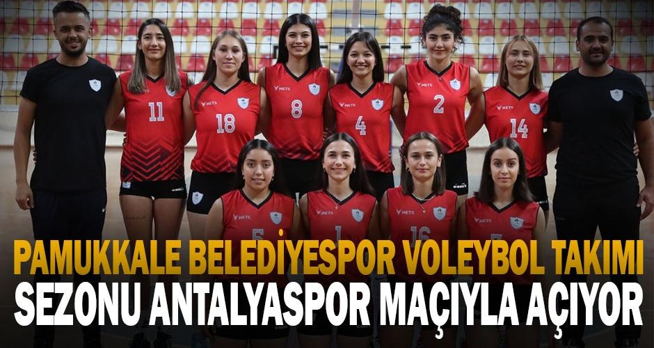 Pamukkale Belediyespor Voleybol Takımı sezona hazır