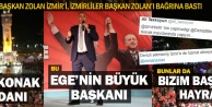 Başkan Zolana İzmirde sevgi seli