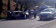Şahintepesinde kaza: 2 yaralı
