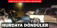 Çameli'de kaza, 4 yaralı