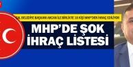 MHPden 18 kişi ihraç edilecek iddiası