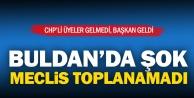Buldan'da meclis toplanamadı