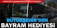 Cumhuriyet Bayramında otobüsler ücretsiz