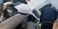 Kaklıkta kaza: 2 yaralı
