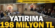 Pamukkale'ye 198 milyon lira bütçe