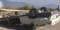 Tavas- Altınova'da kaza: 2 yaralı