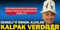 Türk Dünyasından Başkan Zolana ziyaret