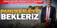 Başkan Gürlesin'den Pamukkale daveti