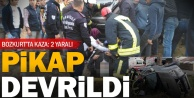 Bozkurt'ta kazada yaralılar sıkıştı