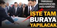 Pamukkale Üniversitesi'nin Doğu Kampüsü Honaz'a