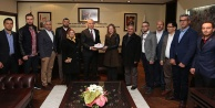 AK Parti Acıpayamdan Başkan Zolana ziyaret
