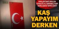 Baklan'da Türk Bayrağı'na hakaret