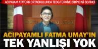 Acıpayamlı Fatma Umay TEOG birincisi oldu