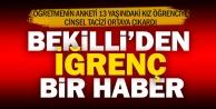 Bekilli'de 13 yaşındaki kıza tacizden bir kişi tutuklandı