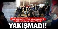 Çal Belediyespora Serinhisarda saldırı