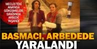 CHP Milletvekili Melike Basmacı arbedede yaralandı