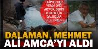 Mehmet Ali Amca, Dalaman Çayı'nda aranıyor