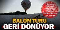 Pamukkalede balon turları tekrar başlıyor