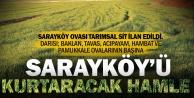 Sarayköy Ovası tarımsal sit alanı ilan edildi