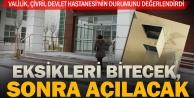 Valilik: Çivril Devlet Hastanesi'nin kesin kabulü daha yapılmadı