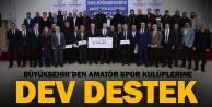 Amatör spor kulüplerine 900.000 TL