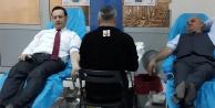 Büyükşehir Zabıta kan bağışladı