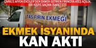 Çivril'de Afyonlu fırıncıya ateş açıldı