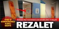 PAÜ hastanesinde rezalet