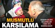 Başkan Zolan Buldana çıkarma yaptı