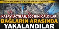 Buldan'ın fabrika hırsızları bağda yakalandı