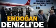 Cumhurbaşkanı Erdoğan Denizliye geldi