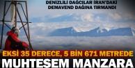Denizlili dağcılar İranda zirveye çıktı