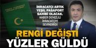 Erdoğan: Yeşil pasaport ihracatçımıza hem teşvik hem doping olacak