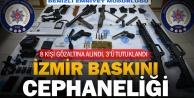 İzmir baskınına bu silahlarla gitmişler