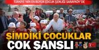 Türkiye'nin en büyük Çocuk Şenliği Sarayköy'de