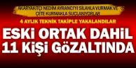 Akaryakıtçı Ayrancıyı vurduğu iddia edilen 11 kişiye gözaltı