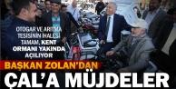 Başkan Zolan'dan Çal'a müjdeler