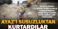 Büyükşehir Ayaz'daki su sorununa son verdi