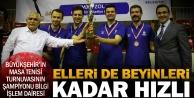 Büyükşehir#039;de masa tenisi turnuvası heyecanı