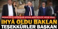 Büyükşehir'den Baklan'a dev yatırımlar