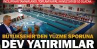Büyükşehir'den dev yüzme havuzu yatırımları