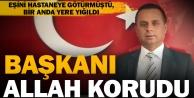 Çal Belediye Başkanı Akcan ölümden döndü