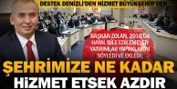 Destek Denizli#039;den hizmet Büyükşehir#039;den