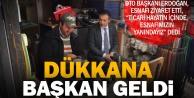 DTO Başkanı Erdoğan esnafı ziyaret etti