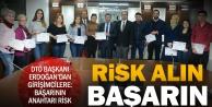 Genç girişimcilere 'risk alın tavsiyesi